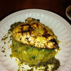 Pesto Spaghetti Squash Recipe