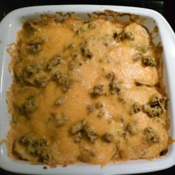 Creamy Hamburger Potato Casserole Recipe