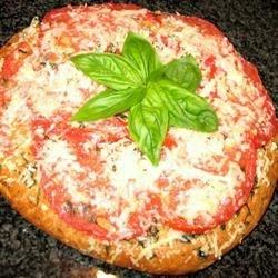 Fresh Tomato Topped Focaccia