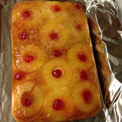 Pineapple Upside-Down Cake V Recipe