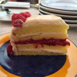 Lemon Raspberry White Chocolate Mousse Cake Recipe