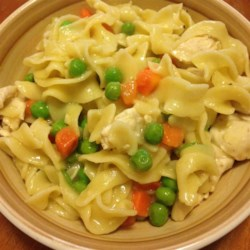 One Dish Chicken Noodles Recipe
