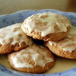 Glazed Apple Cookies Recipe