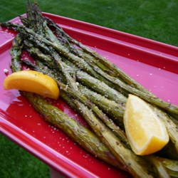 Roasted Parmesan Asparagus Recipe