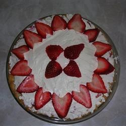 Strawberry & Cream Pie