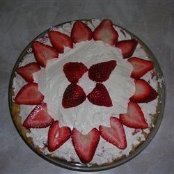 Strawberry & Cream Pie