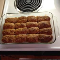Rhubarb Dumplings Recipe