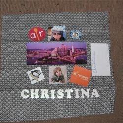 Christina quilt block