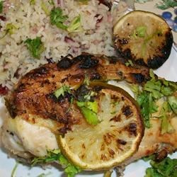 Tina's Best BBQ Lime Chicken Recipe