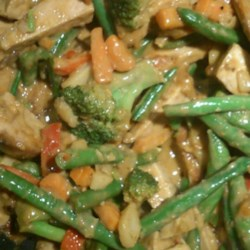 Frozen Vegetable Stir-Fry Recipe