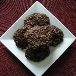 Brownie Oat Cookies