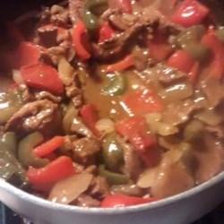 Pepper Steak and Rice Recipe