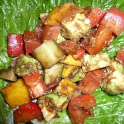 Greek Mango Salad Recipe