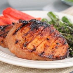 Southern Sweet Grilled Pork Chops Recipe Pork Chops Are Flavored With A Sweet And Savory