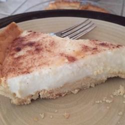 Sugar Cream Pie I Recipe