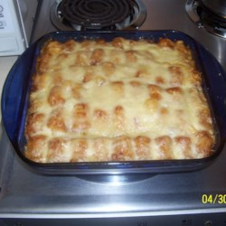 Amy's Tater Tot Casserole Recipe