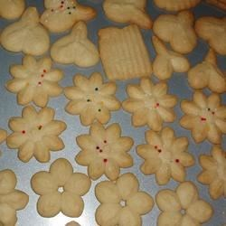 Swedish Ground Almond Spritz Cookies