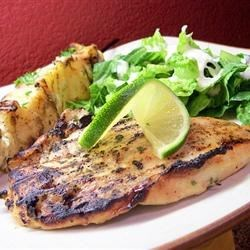 Best Grilled Margarita Chicken... Ever! |