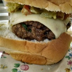 Chipotle Burgers with Avocado Salsa Recipe