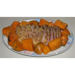 Garlic Pork Roast Recipe