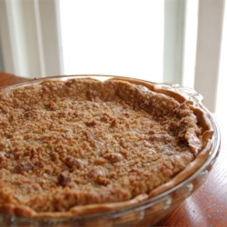 Nectarine Pie with Brown Sugar Crumble