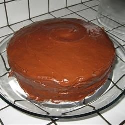 Perfect Yellow Cake with Choc. Frosting