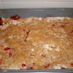 Image of Aunt Kaye's Rhubarb Dump Cake, AllRecipes