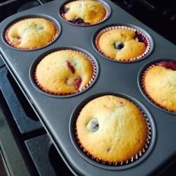 Huckleberry Muffins Recipe