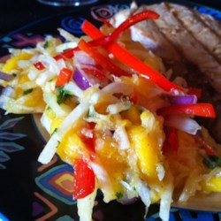 Jicama Mango Salad with Cilantro and Lime Recipe