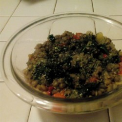 Easy Lentils Side Dish Recipe