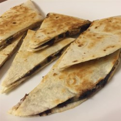 Peanut Butter Quesadillas Recipe