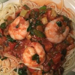 Shrimp Primavera Recipe