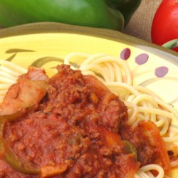 Dad's Spaghetti Sauce with Coffee Recipe