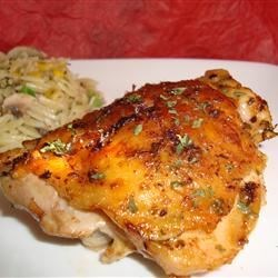 Easy Garlic Broiled Chicken Recipe