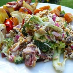 Toss-Together Broccoli Salad Recipe