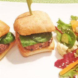 Feta and Olive Lamburgers Recipe