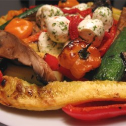 Marinated Barbequed Vegetables Recipe