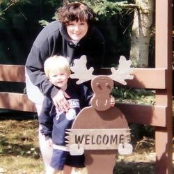 My son Eli and I