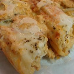 Chicken Manicotti Alfredo Recipe