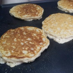 Hearty Oatmeal Pancakes  Recipe