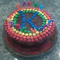 Happy Birthday K Cake