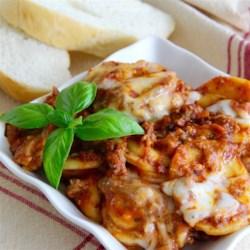 randys slow cooker ravioli lasagna printer friendly