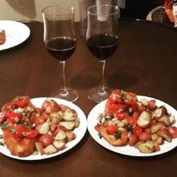 Tomato Basil Chicken Recipe