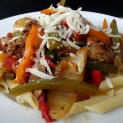 Daddy's Sausage and Peppers Recipe