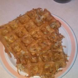 Hash Brown Waffles Recipe