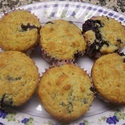 Oatmeal Bluberry Muffins