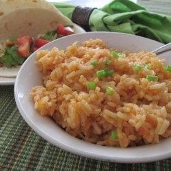 spicy spanish style rice printer friendly