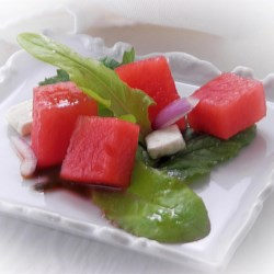 Arugula and Watermelon Salad Recipe