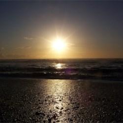 Sunset at Rialto Beach, Washington State
