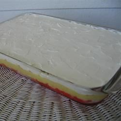 Angel Cake Surprise in 9x13 glass dish